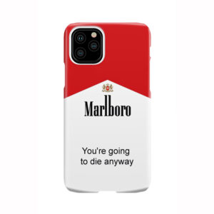 Marlboro Quote for Best iPhone 11 Pro Case