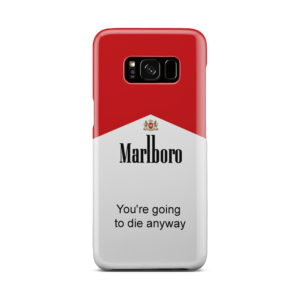 Marlboro Quote for Cool Samsung Galaxy S8 Case Cover
