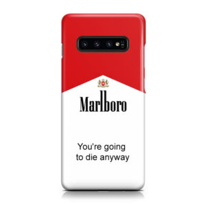 Marlboro Quote for Customized Samsung Galaxy S10 Case Cover