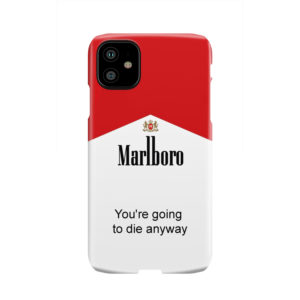 Marlboro Quote for Newest iPhone 11 Case Cover