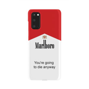 Marlboro Quote for Trendy Samsung Galaxy S20 Case