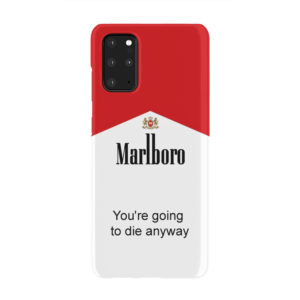 Marlboro Quote for Trendy Samsung Galaxy S20 Plus Case Cover