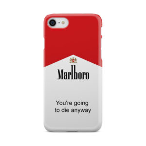 Marlboro Quote for Unique iPhone 7 Case Cover