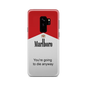 Marlboro Quote for Unique Samsung Galaxy S9 Plus Case