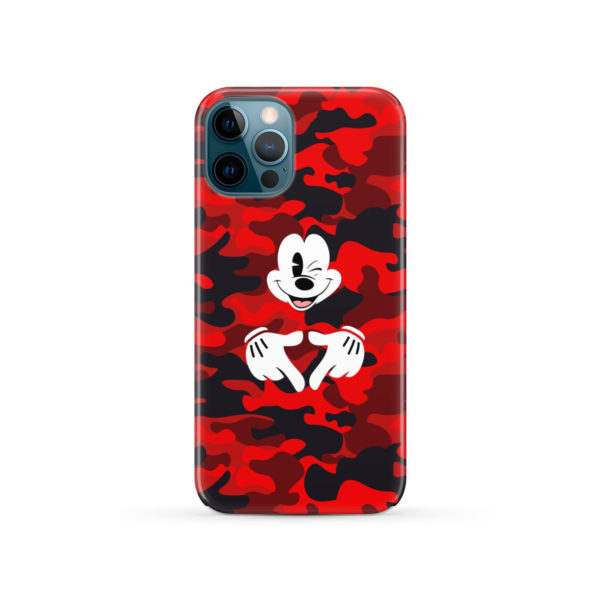 Mickey Mouse Camouflage for Amazing iPhone 12 Pro Case Cover