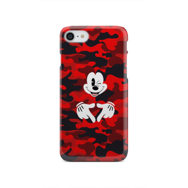 Mickey Mouse Camouflage for Beautiful iPhone SE 2020 Case