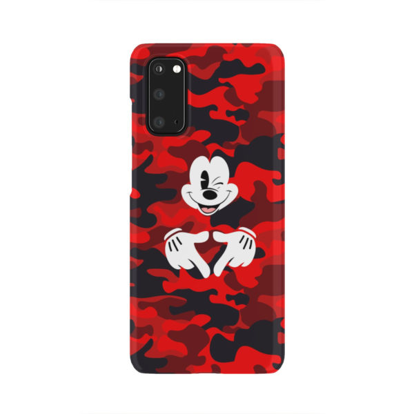 Mickey Mouse Camouflage for Beautiful Samsung Galaxy S20 Case Cover
