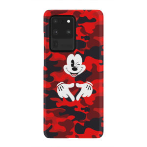 Mickey Mouse Camouflage for Beautiful Samsung Galaxy S20 Ultra Case