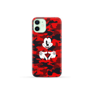 Mickey Mouse Camouflage for Best iPhone 12 Mini Case Cover