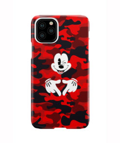 Mickey Mouse Camouflage for Custom iPhone 11 Pro Case