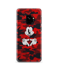 Mickey Mouse Camouflage for Customized Samsung Galaxy S9 Case