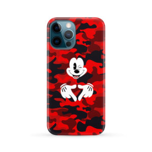 Mickey Mouse Camouflage for Cute iPhone 12 Pro Max Case