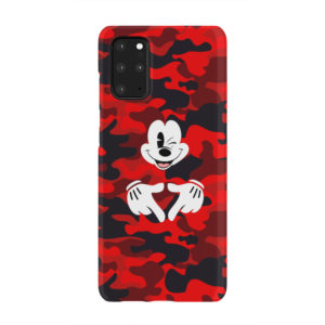 Mickey Mouse Camouflage for Cute Samsung Galaxy S20 Plus Case