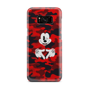 Mickey Mouse Camouflage for Cute Samsung Galaxy S8 Plus Case