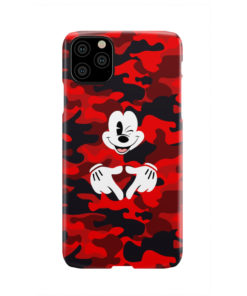 Mickey Mouse Camouflage for Newest iPhone 11 Pro Max Case Cover