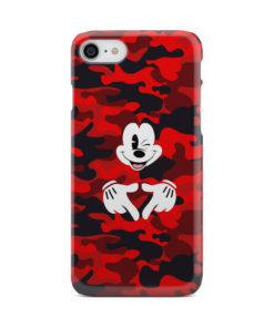 Mickey Mouse Camouflage for Newest iPhone 8 Case