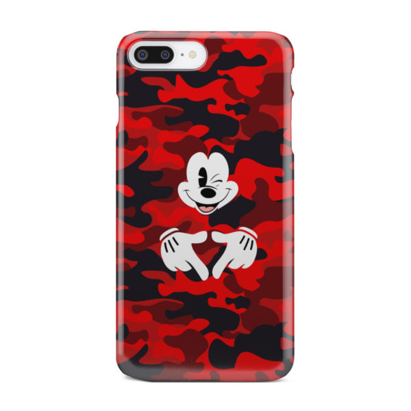 Mickey Mouse Camouflage for Personalised iPhone 7 Plus Case