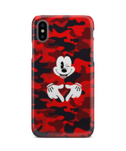 Mickey Mouse Camouflage for Personalised iPhone X / XS Case