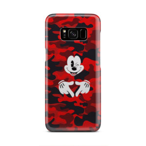 Mickey Mouse Camouflage for Personalised Samsung Galaxy S8 Case Cover