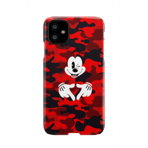Mickey Mouse Camouflage for Premium iPhone 11 Case Cover