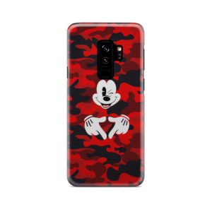 Mickey Mouse Camouflage for Premium Samsung Galaxy S9 Plus Case