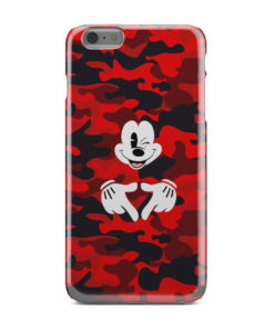 Mickey Mouse Camouflage for Stylish iPhone 6 Plus Case