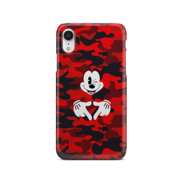 Mickey Mouse Camouflage for Stylish iPhone XR Case Cover