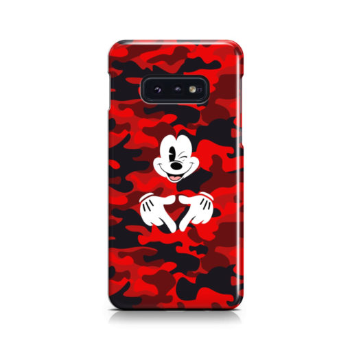 Mickey Mouse Camouflage for Trendy Samsung Galaxy S10e Case Cover