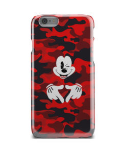 Mickey Mouse Camouflage for Unique iPhone 6 Case