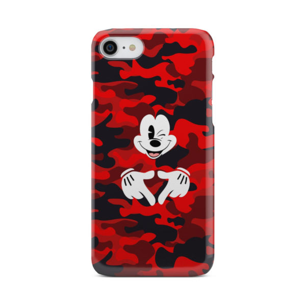 Mickey Mouse Camouflage for Unique iPhone 7 Case