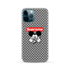 Mickey Mouse Gangster Supreme for Amazing iPhone 12 Pro Max Case