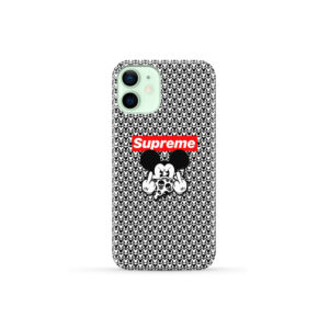 Mickey Mouse Gangster Supreme for Trendy iPhone 12 Mini Case