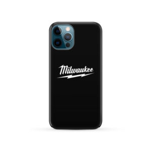Milwaukee Tool Black and White Logo for Newest iPhone 12 Pro Case