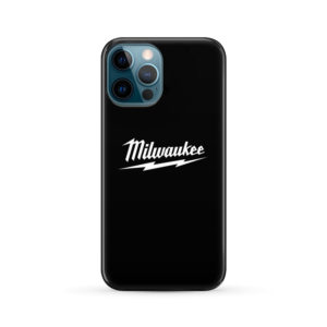 Milwaukee Tool Black and White Logo for Personalised iPhone 12 Pro Max Case Cover