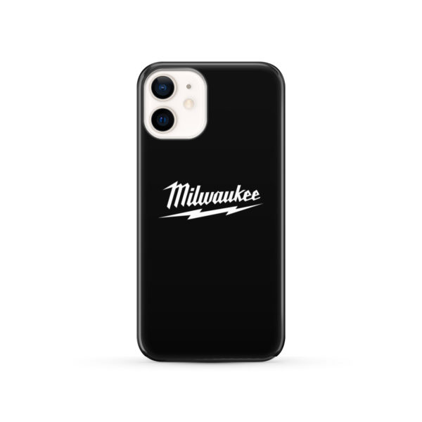 Milwaukee Tool Black and White Logo for Stylish iPhone 12 Case Cover