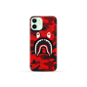 New Bathing Bape Camo Shark for Custom iPhone 12 Mini Case Cover