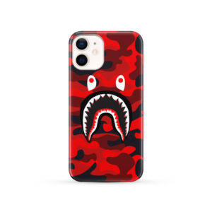 New Bathing Bape Camo Shark for Customized iPhone 12 Case Cover