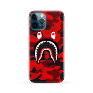 New Bathing Bape Camo Shark for Personalised iPhone 12 Pro Max Case Cover