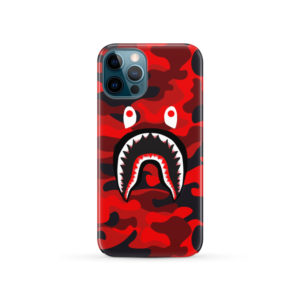 New Bathing Bape Camo Shark for Premium iPhone 12 Pro Case Cover