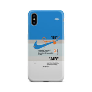 Nike Air Jordan Off White for Amazing iPhone XS Max Case