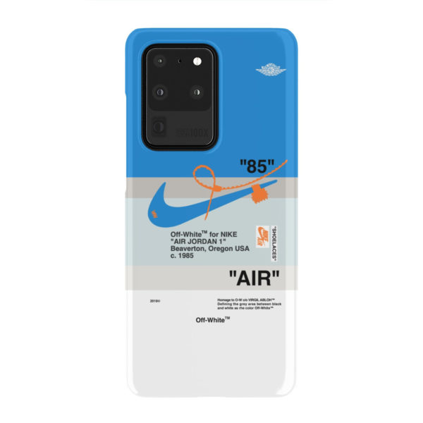 Nike Air Jordan Off White for Amazing Samsung Galaxy S20 Ultra Case