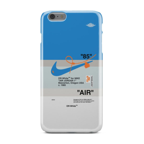 Nike Air Jordan Off White for Cool iPhone 6 Plus Case Cover