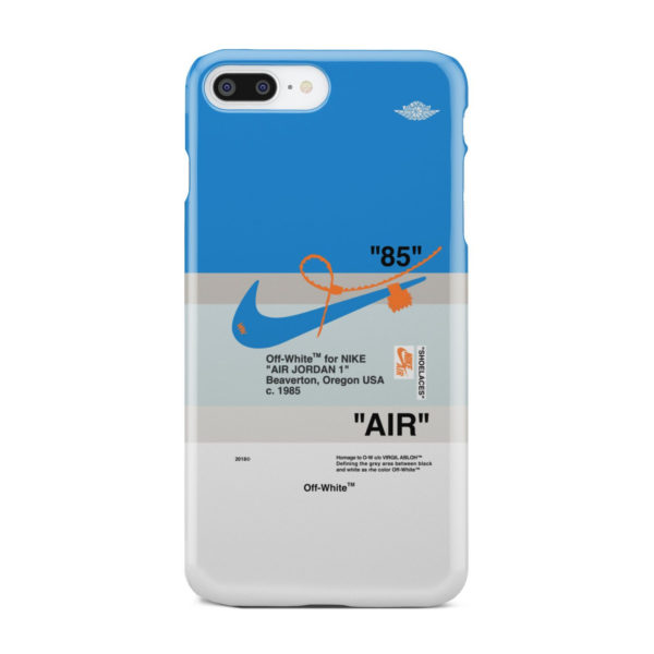 Nike Air Jordan Off White for Cool iPhone 8 Plus Case