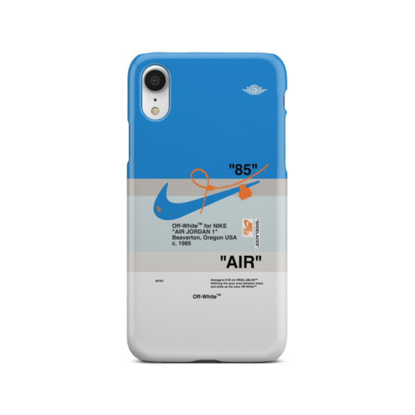 Nike Air Jordan Off White for Cool iPhone XR Case