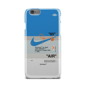 Nike Air Jordan Off White for Custom iPhone 6 Case Cover