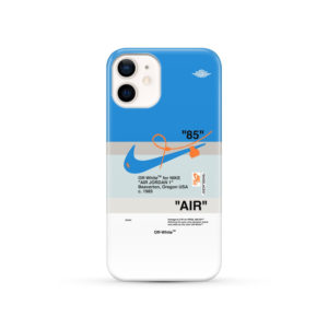 Nike Air Jordan Off White for Personalised iPhone 12 Case Cover