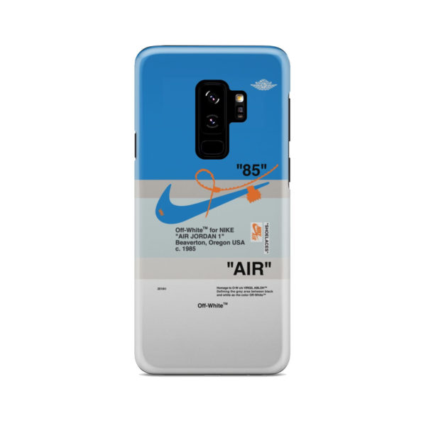 Nike Air Jordan Off White for Simple Samsung Galaxy S9 Plus Case Cover