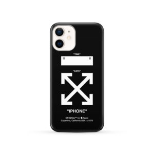 Off White Logo for Trendy iPhone 12 Case Cover