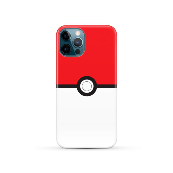 Pokemon Pokeball for Custom iPhone 12 Pro Case