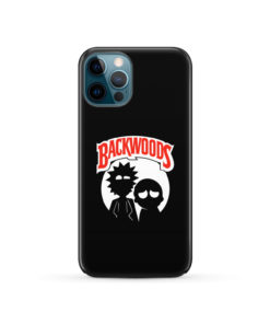 Rick and Morty Backwoods for Cool iPhone 12 Pro Case Cover